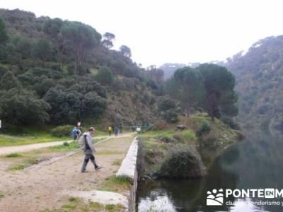 Senderismo Madrid - Pantano de San Juan - Embalse de Picadas; pueblos de españa; san sebastian de l